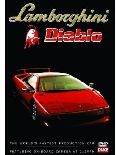 Nice Awesome Lamborghini Diablo DVD Region 1 2017-2018 Check more at http://fords.ga/awesome-lamborghini-diablo-dvd-region-1-2017-2018/