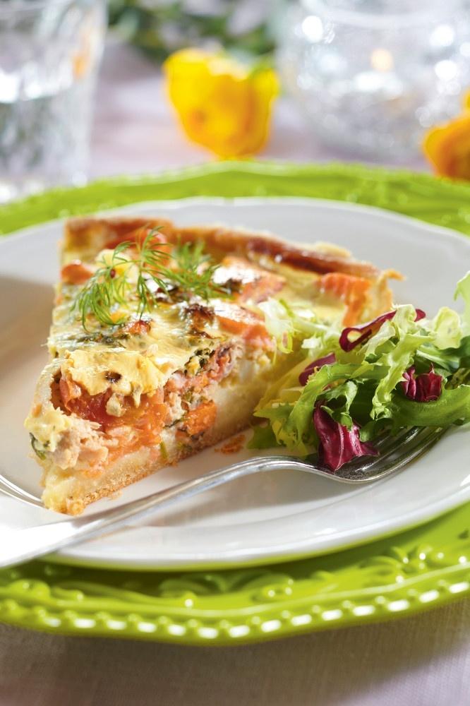 Lohi-vihannespaistos | K-ruoka