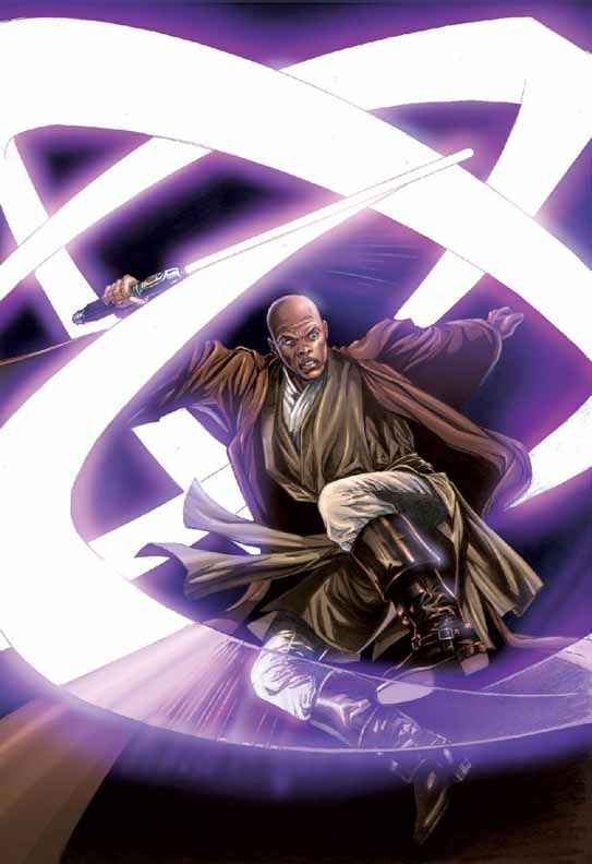 Star Wars - Mace Windu by Jan Duursema