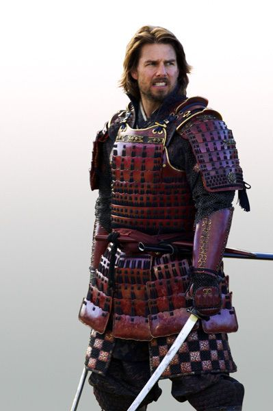 "Tom Cruise in ""The Last Samurai"" (2003). LOVE the beard!!!"