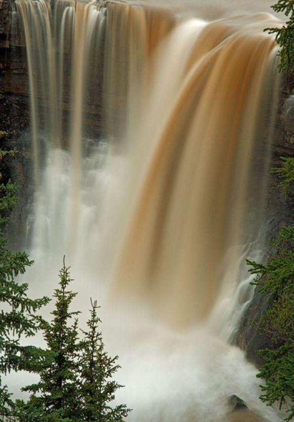 Crescent Falls ~ Banff National Park, Alberta, Canada