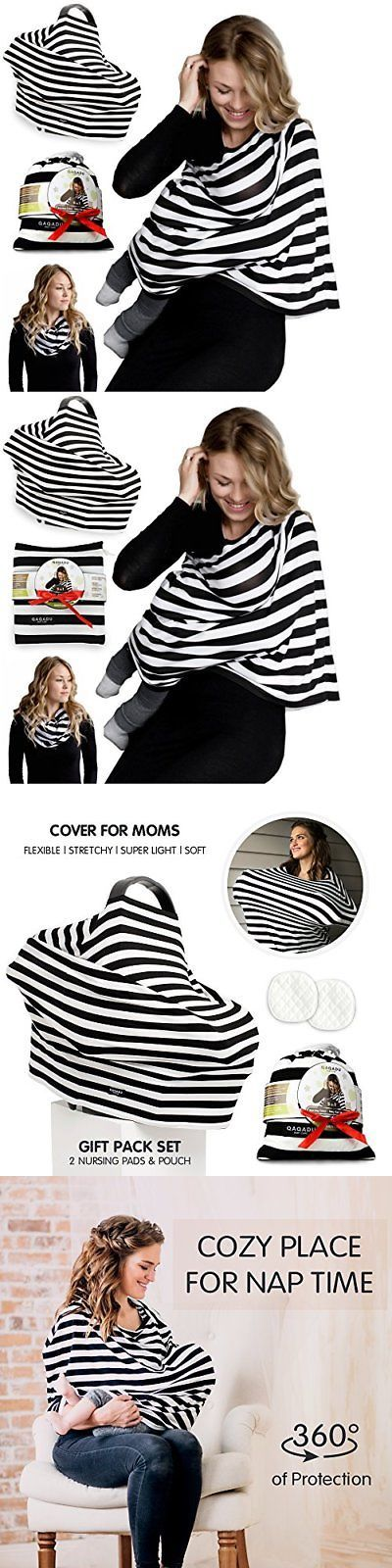 Nursing Covers Blankets 184340: Nursing Breastfeeding Cover Scarf Baby Car Seat Canopy Pads Pouch And Gift Pack -> BUY IT NOW ONLY: $32.99 on eBay!