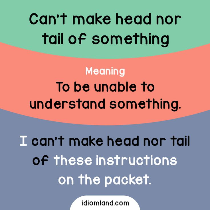 examples of how to teach esl students idioms
