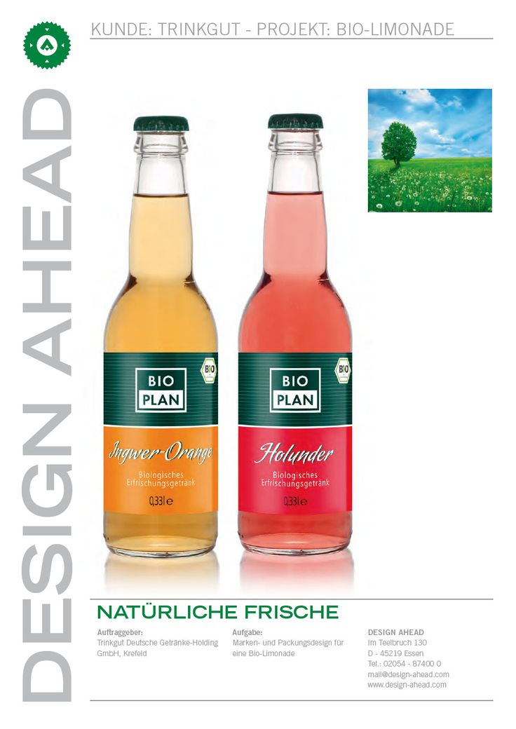 """Markenentwicklung und Packaging Design der Marke """"Bioplan"""""""