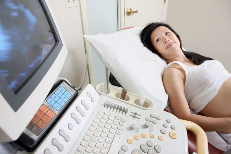 Woman getting and ultrasound in pregnancy – Baby things