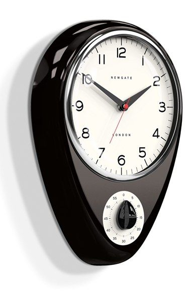 NEWGATE U0027Discoveryu0027 Wall Clock U0026 Kitchen Timer Available At #Nordstrom
