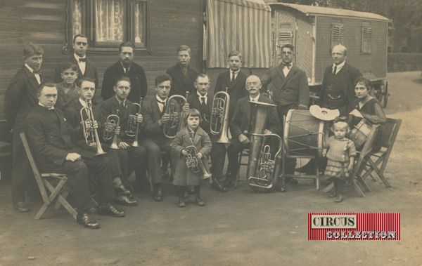 Circus collection: Zirkus Althoff début 1900