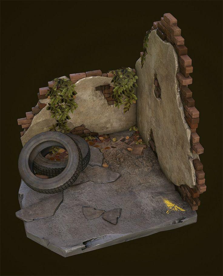 The last of us diorama