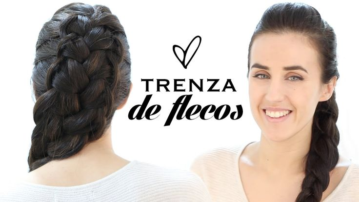 Trenza De Flecos Cruzados French Loop Braid Youtube