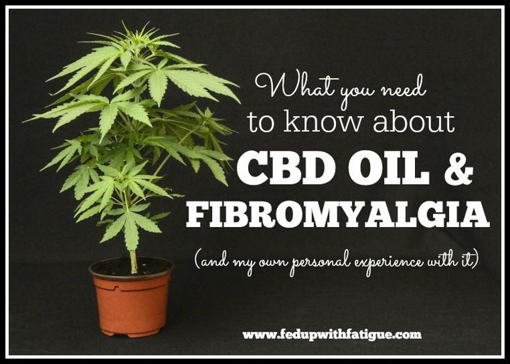 What you need to know about CBD oil and fibromyalgia   Fed Up with Fatigue   Repinned by Medeakarrfnp.com