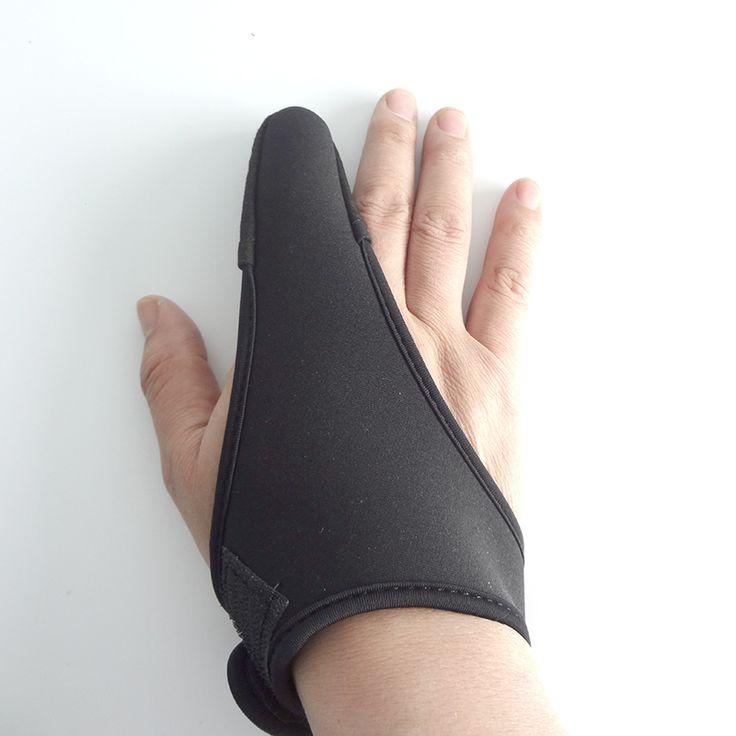 MiG 1 Piece Fishing Gloves Finger Stall Protector Adjustable Elastic Single Finger Casting Glove