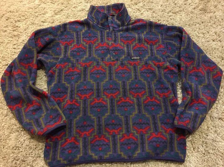 Patagonia Fleece Pullover Sz M | eBay