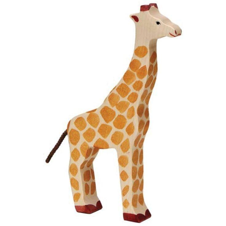 Wooden Giraffe Holztiger Toy | Worldwide shipping www.minizoo.com.au