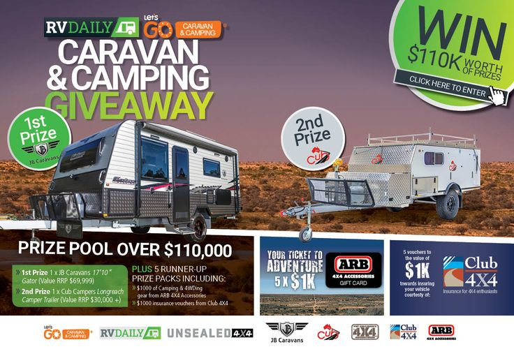 Help me win this awesome competition worth 110k from RV Daily Magazine!