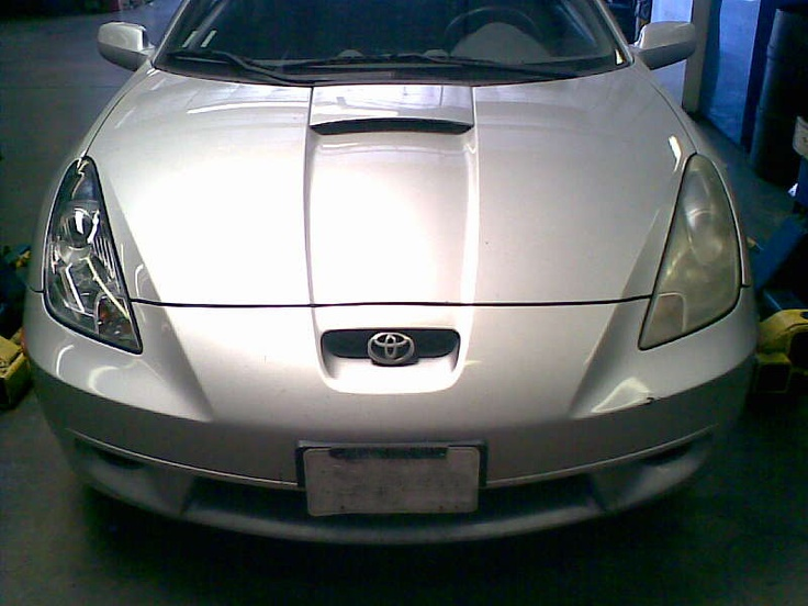 Let There Be Light Headlight Restoration Service - 2001 Toyota Celica Before and After.  #headlightrestoration #headlightrestorationservices #toyota #toyotacelica