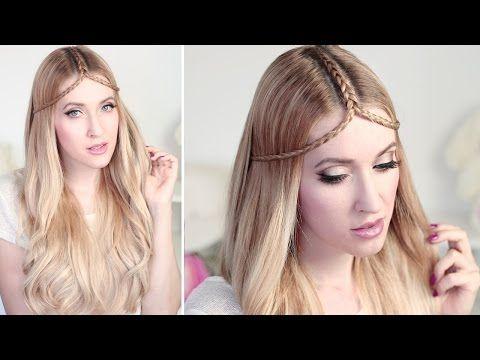 Summer hair tutorial ✿TIARA BRAID hairstyle for medium and long hair - YouTube  So cute! I love this hair style -ANGELINA HOPE