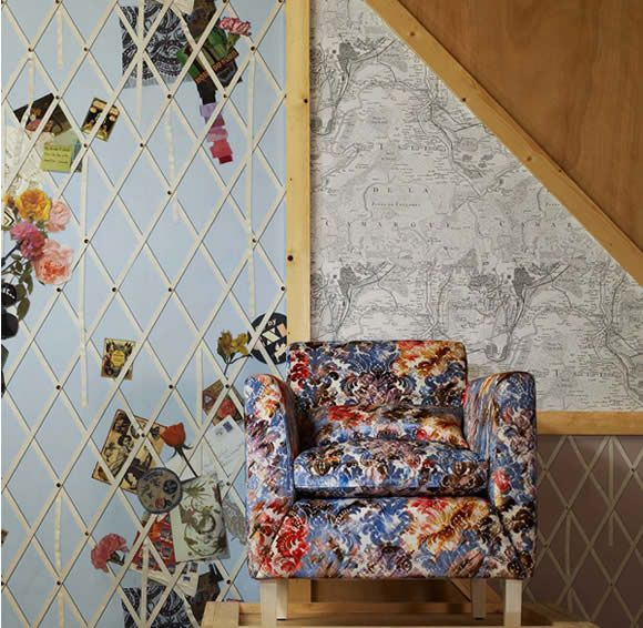 Christian Lacroix Fabrics And Wallpapers From Icon Textiles, Wallcoverings And Wall Papers And Furnishing Fabrics From Christian Lacroix , W...