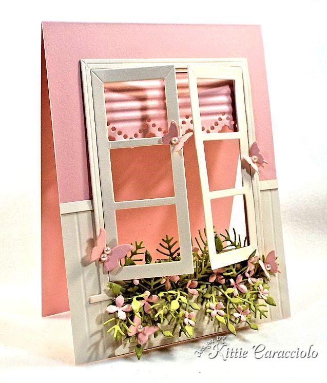 Нежный, открытки с окнами скрапбукинг