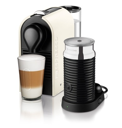 NESPRESSO U - PURE WHITE U offers total integration thanks to it's unique modularity, simplicity, and automatic functionality. The U lives like you.