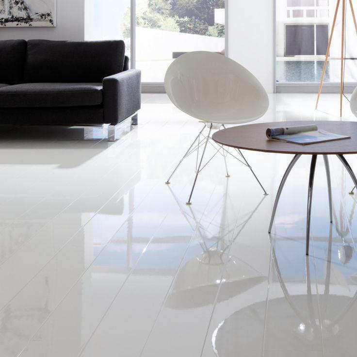 High Gloss Kitchen Floor Tiles: 25+ Best Ideas About White Laminate Flooring On Pinterest