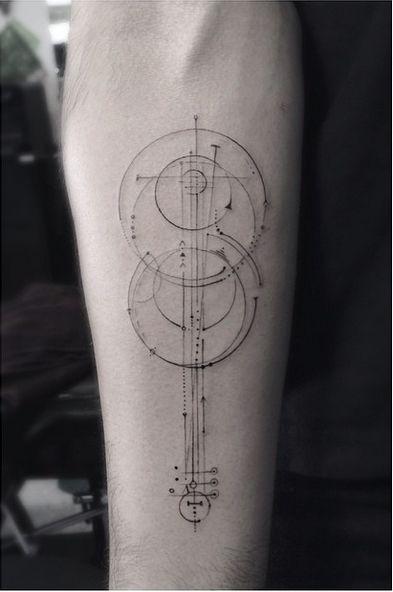 17 meilleures id es propos de tatouages de fl ches sur pinterest tatouage dessin fl che - Tatouage systeme solaire ...