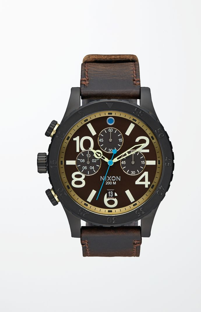 The 48-20 Chrono Leather Watch