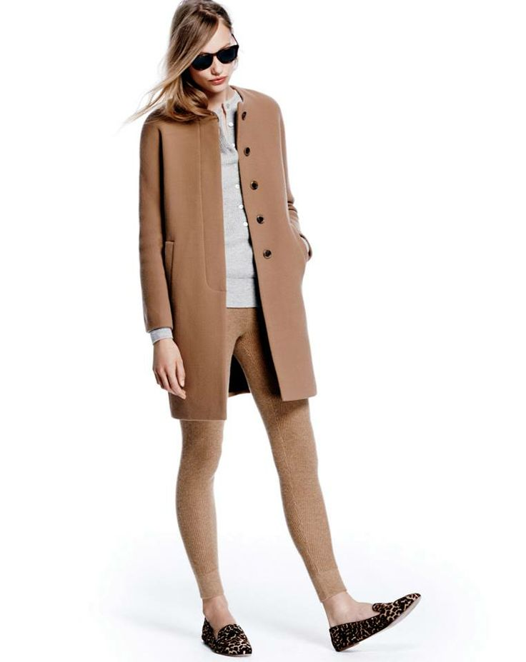 Love my new j crew double cloth sabrina coat camel works French style fashion advice