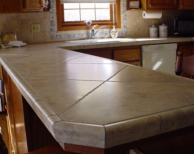 1000 ideas about tile kitchen countertops on pinterest - Tile for countertops ideas ...