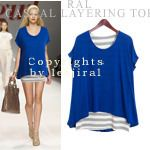 Today's Hot Pick :Casual Layered Top http://fashionstylep.com/SFSELFAA0004291/dalphinsen1/out High quality Korean fashion direct from our design studio in South Korea! We offer competitive pricing and guaranteed quality products. If you have any questions about sizing feel free to contact us any time and we can provide detailed measurements.