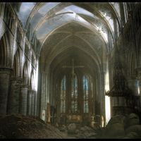 post apocalyptic church - Google Search