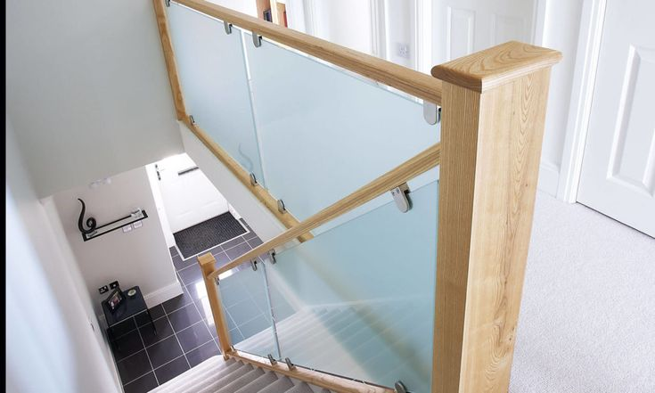 Best Frosted Glass Staircase Glass Staircase Staircase 400 x 300
