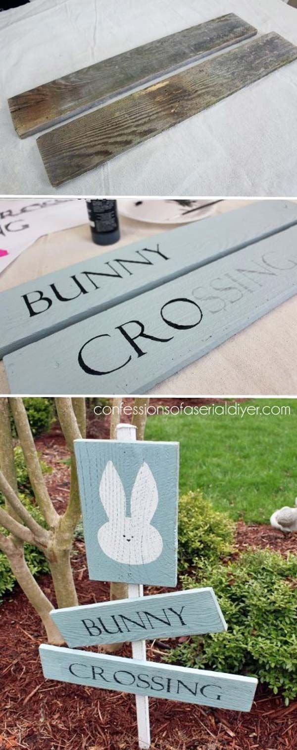 Best 25 diy easter decorations ideas on pinterest easter crafts 29 cool diy outdoor easter decorating ideas negle Images