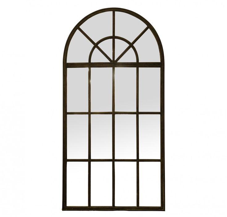 Large Iron Arch Mirror Arch Mirror Industrial Irons And