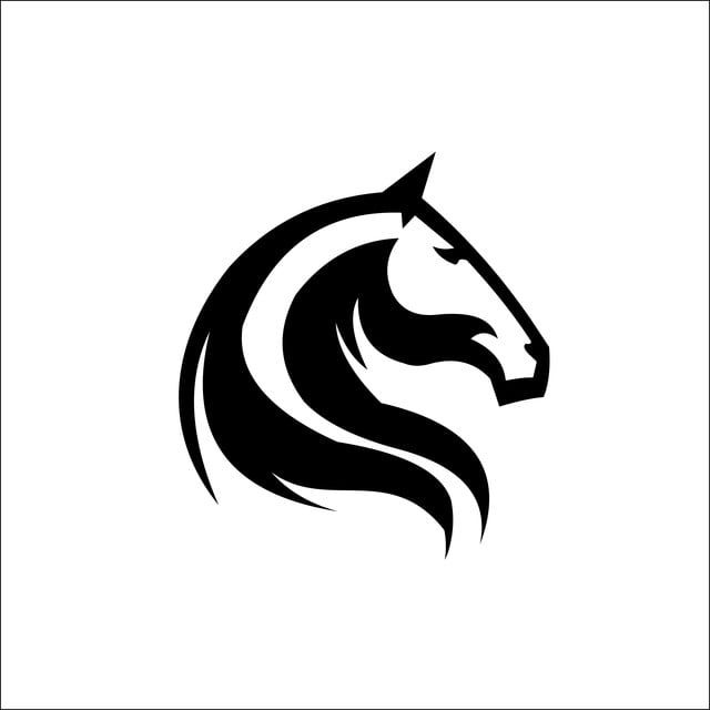 Horse Head Logo Template Vector Horse Clipart Black And White Logo Icons Template Icons Png And Vector With Transparent Background For Free Download In 2021 Horse Logo Design Horse Logo Horse Head