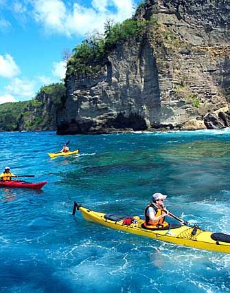 St.Lucia / Anse Chastanet Kayak Tour