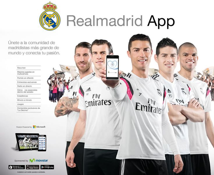 Ya puedes descargar la app del Real Madrid - http://webadictos.com/2015/05/19/descargar-app-del-real-madrid/?utm_source=PN&utm_medium=Pinterest&utm_campaign=PN%2Bposts