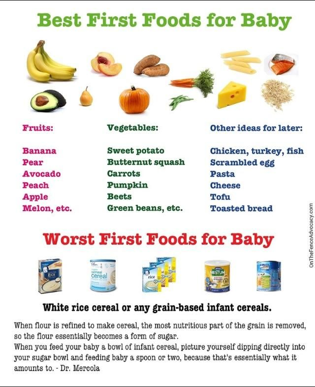 Remember, food before one is just for fun! Visit http://www.bellybelly.com.au/baby/starting-solids-when-should-i-start-feeding-baby-solids for more first solids information and tips. (And this doesn't even talk about the arsenic in the rice cereal..)