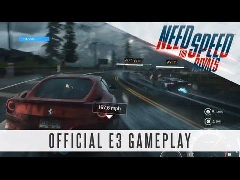 Need for Speed Rivals - E3 Gameplay Video (Official E3 2013)