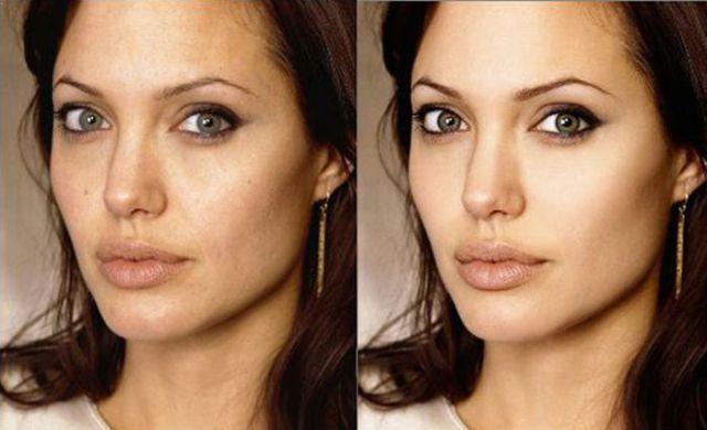 Terrible celebrity photoshop comparisons
