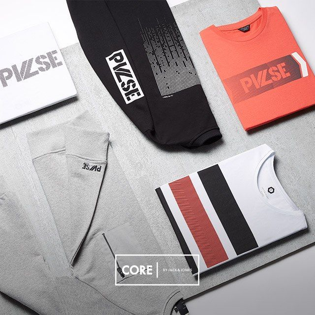 On the PULSE sweats and t-shirts!