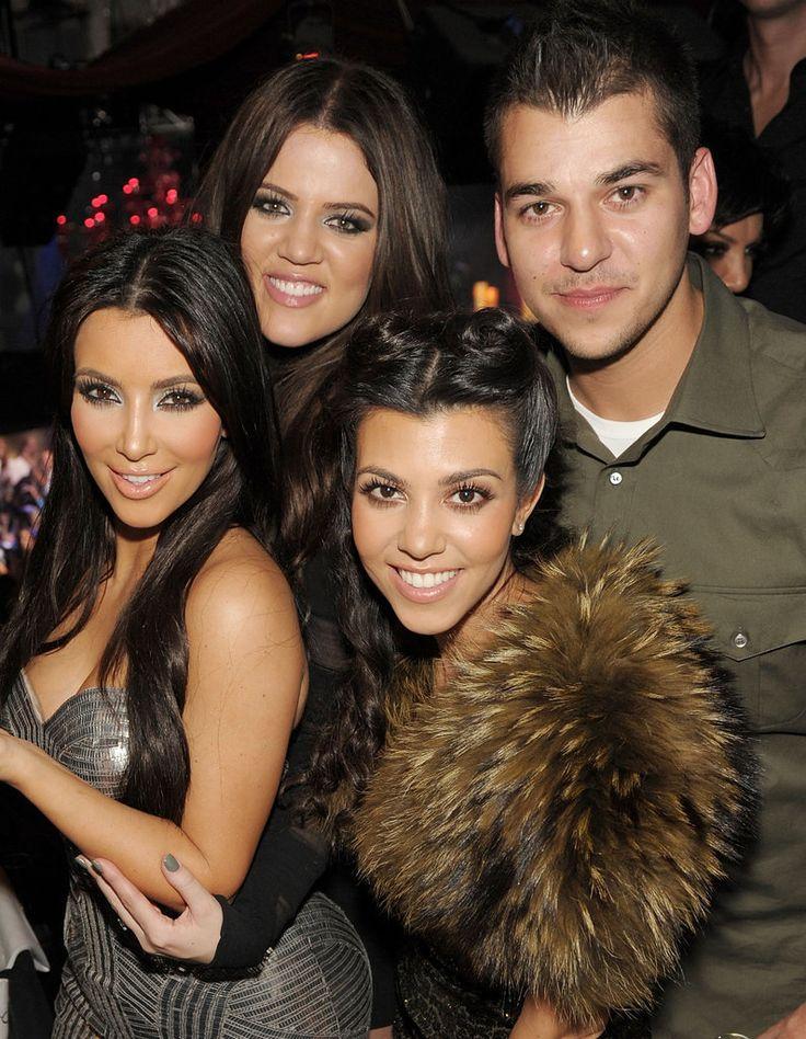 The Kardashians gather for a sweet family photo.