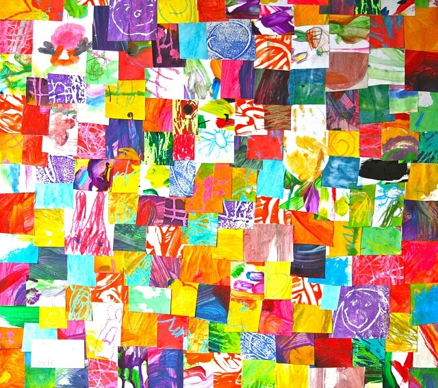 what to do with all your child's art work or we could make a 'masterpiece' as we make through the year