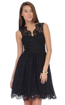 Amanda Uprichard Lace Tie Back Dress.Perfect for a cocktail party. Order at lashclothing.com