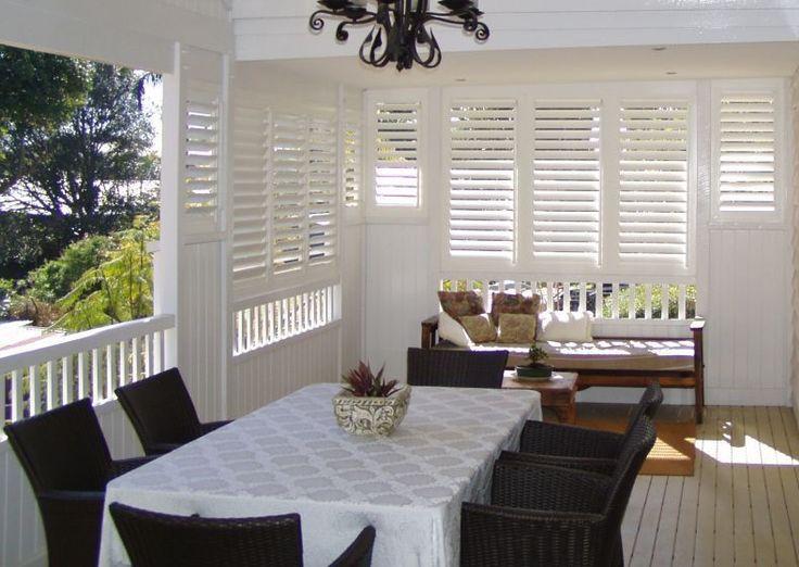 plantation style shutters for verandahs Google Search