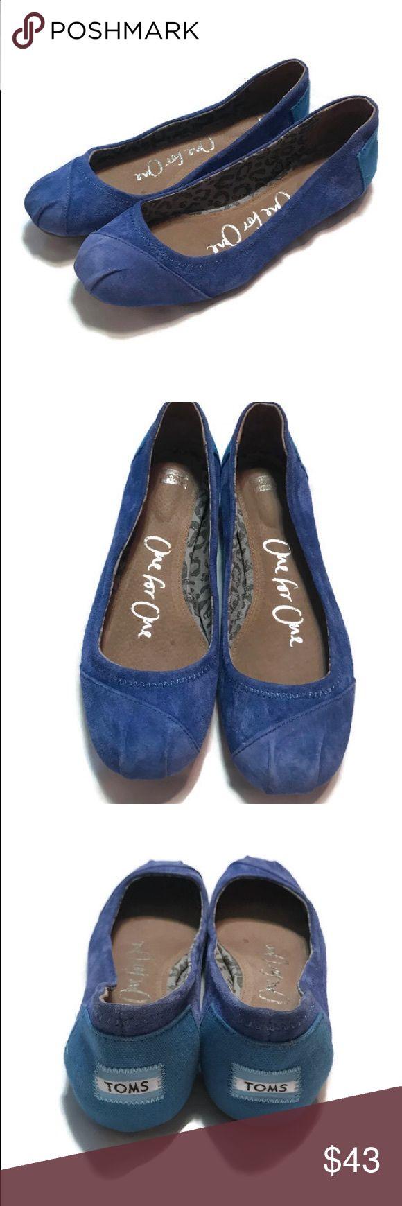 Toms ballet flats size W7.5 Toms ballet flats size W7.5 Toms Shoes