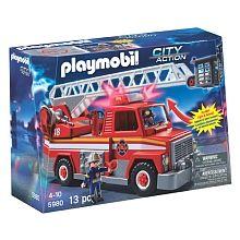 Playmobil - Camion de pompier avec échelle de secours (5980)
