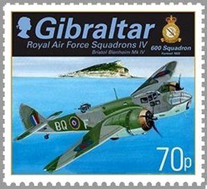 Bristol Blenheim Mk IV, 600 Squadron