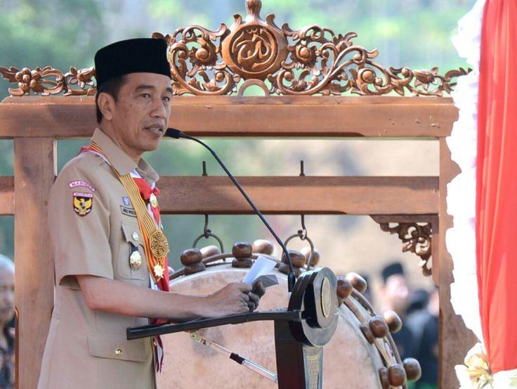 MAGELANG ,18 Sep 2017-Mengawali kegiatan pada hari ketiga kunjungannya ke Jawa Tengah, Presiden Joko Widodo menjadi pembina upacara pembukaan pada Perkemahan Wirakarya Pramuka Ma'arif NU Nasional (…