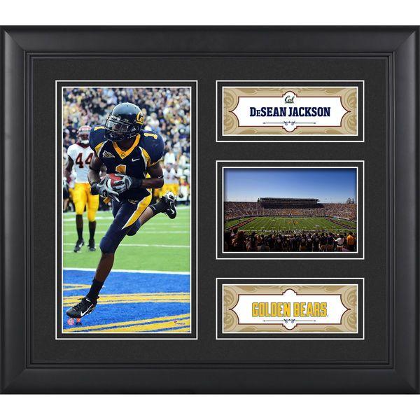 "DeSean Jackson California Golden Bears Fanatics Authentic Framed 15"" x 17"" Player Collage - $49.99"
