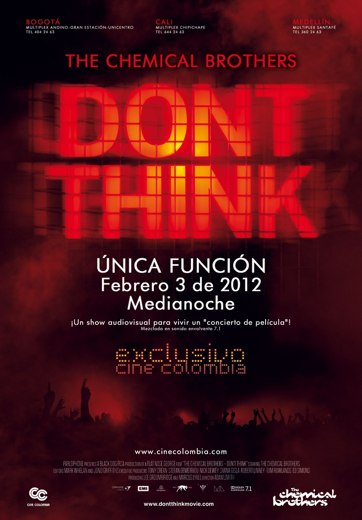 Don't Think The Movie - Chemical Brothers
